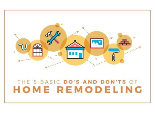 The 5 Basic Do's and Don'ts of Home Remodeling